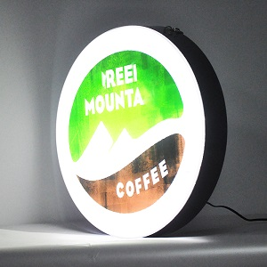 Acrylic suspension light box