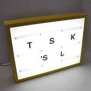 Acrylic originality led lighting box
